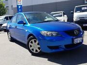 2006 Mazda 3 BK MY06 Upgrade Neo Blue 5 Speed Manual Sedan East Victoria Park Victoria Park Area Preview
