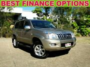 2004 Toyota Landcruiser Prado GRJ120R Grande Gold 4 Speed Automatic Wagon Underwood Logan Area Preview