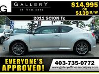 2011 Scion tC Coupe $139 bi-weekly APPLY NOW DRIVE NOW