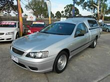 2005 Ford Falcon BF XL Silver 4 Speed Auto Seq Sportshift Cab Chassis Maidstone Maribyrnong Area Preview