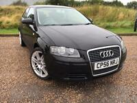 AUDI A3 1.6 SPECIAL EDITION 3 DOOR 2007 56 *NEW WHEELS AND TYRES, STUNNING CAR*
