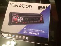 Car DAB Radio/CD Player with USB Interface