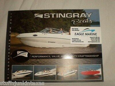 2011 Stingray Boats Catalog / NEW