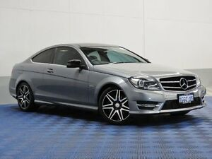 2012 Mercedes-Benz C250 W204 MY12 Sport BE Grey 7 Speed Automatic G-Tronic Coupe Morley Bayswater Area Preview