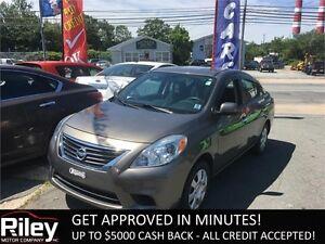 2012 Nissan Versa 1.6 STARTING AT $112.30 BI-WEEKLY