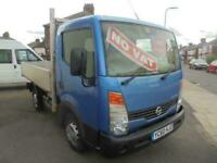 2010 Nissan Cabstar 34.11 dCi Tipper CHASSIS CAB Diesel Manual