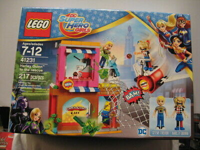 LEGO DC SUPER HERO GIRLS #41231 HARLEY QUINN TO THE RESCUE -217 PCS(FREE SHIP)