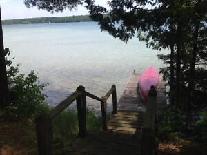 Waterfront Cottage for Rent:  August 25 to Sept. 1, 2017