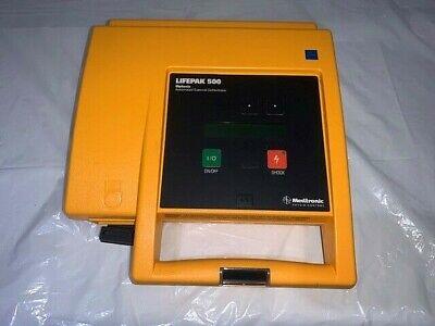 Lifepak 500 Biphasic Ecg Machine Wout Case--untested Partsas Is No Battery