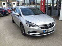 Vauxhall Astra 1.6 CDTi 16V 136 SRi Nav 5dr (sovereign silver) 2016