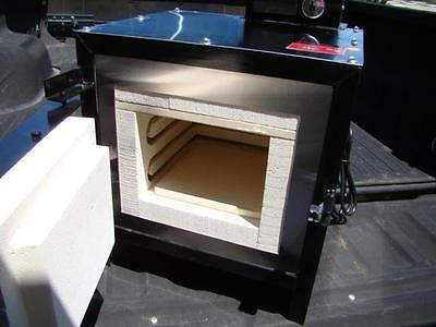 2300 F Electric Kiln Furnace Gold-Copper-Silver Smelter Assay Melting (MYOGB9)