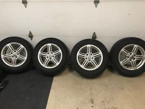 16 '' Tiguan VW mags and winter tires