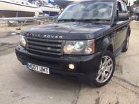 Land Rover Range Rover Sport 2.7 TD V6 HSE SUV 5dr Diesel Automatic (265 g/km, (black) 2007