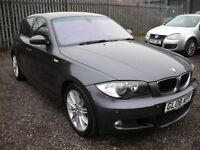 BMW 1 SERIES 1.6 116I M SPORT 5d 121 BHP Top spec - Sat nav - H (grey) 2008