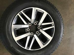 """Toyota Hilux SR5 18"""" Alloy Wheels & Tyres (5) Near New (600KM ONL Castlecrag Willoughby Area Preview"""