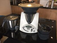 Thermomix - ultimate kitchen appliance. Steamer and two bowls included.