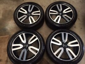 """20"""" GENUINE LAND ROVER/RANGE ROVER LANDMARK WHEELS AND TYRES(TRANSPORTER,SPORT,VOGUE,DISCOVERY,HSE)"""