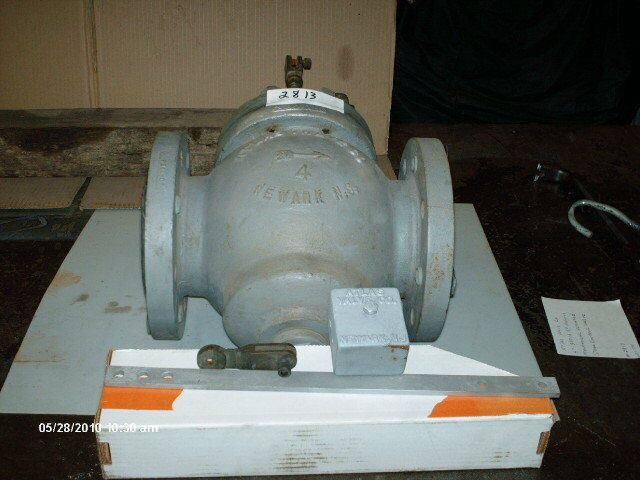 """Atlas Control Valve 4"""" 300# Flg Mechanical Actuated NEW"""