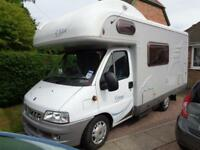 Hymer Camp C524 New Clutch, Cambelt, 12 mnths MOT
