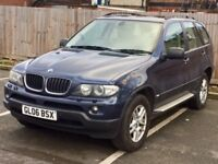 2006 BMW X5 Automatic in Metallic Blue, Leather Interior, Long MOT & Excellent Condition