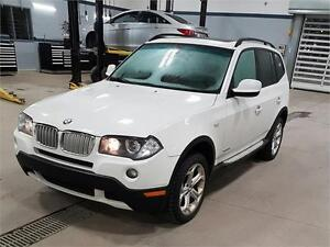 2010 BMW X3 30i XDRIVE (105,539/KM, CUIR, TOIT PANO, AIR, FULL!)