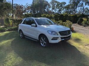 2012 Mercedes-Benz ML250 W166 BlueTEC 7G-Tronic + White 7 Speed Sports Automatic Wagon Capalaba Brisbane South East Preview