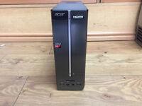 ACER ASPIRE XC-105 SFF AMD A4-5000 1.50GHz 4GB RAM 250GB HDD W8 PC