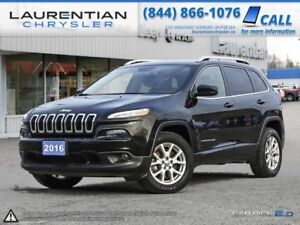 2016 Jeep Cherokee -BLUETOOTH, 4X4, BACK-UP CAMERA!!!