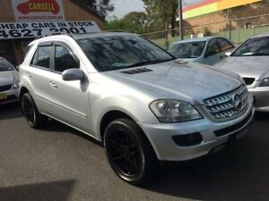 2007 Mercedes-Benz ML W164 07 Upgrade 280 CDI Luxury (4x4) Silver 7 Speed Automatic G-Tronic Wagon Campbelltown Campbelltown Area Preview
