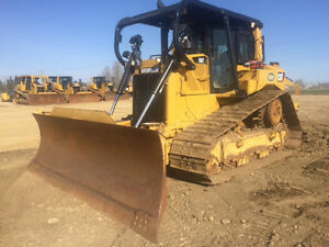 2012 CAT D6T LGP 6-Way Dozer with Ripper for Sale or Rent