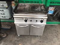 GAS GRILL COMMERCIAL GAS GRILL COMMERCIAL CATERING EQUIPMENT RESTAURANT TAKEAWAY KEBAB CAFE SHOP