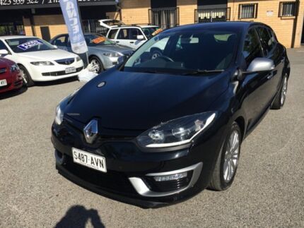 2014 Renault Megane III B95 Phase 2 GT-Line EDC Black 6 Speed Sports Automatic Dual Clutch Hatchback Broadview Port Adelaide Area Preview