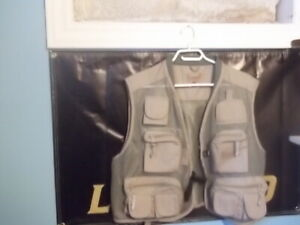 fishing vest ,/or fly fishing vest