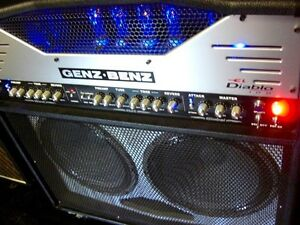 2010 GENZ-BENZ DIABLO EL 100 ALL TUBE AMP -MINT -