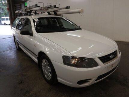 2010 Ford Falcon BF Mkiii XT (LPG) White 4 Speed Auto Seq Sportshift Wagon Geebung Brisbane North East Preview