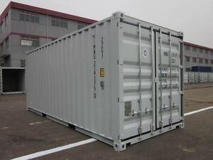 New 20 39 Shipping Container Cargo Container Storage