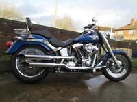 Harley-Davidson FLSTF 103 fat boy 1690 Custom Cruiser Motorcycle