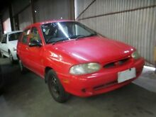 1997 Ford Festiva WD Trio Red 5 Speed Manual Hatchback Moorabbin Kingston Area Preview
