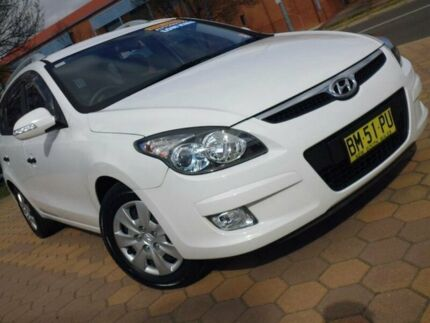 2011 Hyundai i30 FD MY11 CW SX 1.6 CRDi White 4 Speed Automatic Wagon Belconnen Belconnen Area Preview