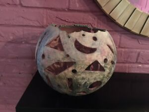 One of a Kind Pottery Decorative Art