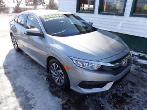 2017 Honda Civic Sedan EX for only $199 bi-weekly all in!