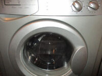 INDESIT 6KG 1600 SPIN SILVER WASHING MACHINE, CAN DELIVER FREE TO ANY PR POSTCODE £60 NO OFFERS