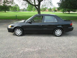 2001 Toyota Corolla CE SPORT---BRAND NEW CLUTCH---AND----TUNE UP