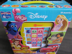 Disney Electronic Reader & 8-Book Library, NEW in box -- $12.00