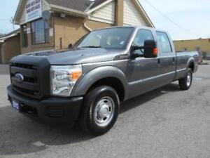 2012 FORD F250 XL Super Duty 3/4Ton Crew Cab 8Ft Box ONLY 26Km