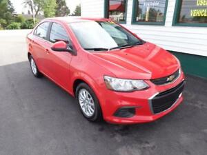 2018 Chevrolet Sonic LT for only $137 bi-weekly all in!