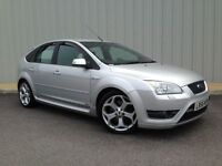 Ford Focus ST-2, 5 Door in Metallic Silver, Complete with Fantastic Detailed Service History
