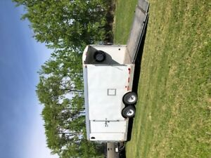 2012 Haulmark 21'  Round Top V- Nose Trailer