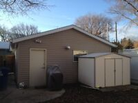 Newer Heated Garage on East Side in great location and secure.