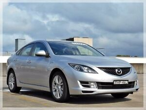 2008 Mazda 6 GH1051 Classic Silver Sports Automatic Hatchback Brookvale Manly Area Preview
